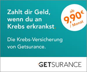 Getsurance Krebs-Versicherung